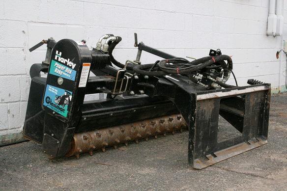 adh hitch rental skid steer attachments